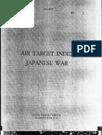 Air Target Index - Japanese War
