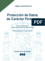 BOE-055 Proteccion de Datos de Caracter Personal