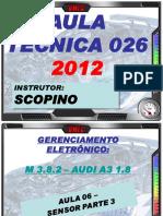 Audi a3 Sensor Parte 3