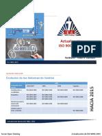 Actualizacion ISO 90012015