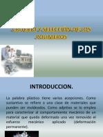 Criterio y Selección de Los Polímeros