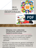 talentosocapacidadesexcepcionales- DIAPOSITIVAS