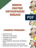 COMMON PAEDIATRICS ORTHOPEDICS DISEASES