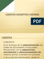 Presentacion Logistica Conceptos e Historia