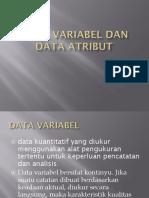 Data Variabel Dan Data Atribut