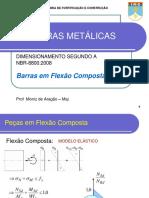 LEAO, Marcelo e ARAGAO, Moniz - 04 Peças Flexo-comprimidas
