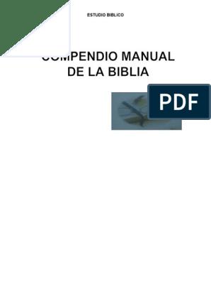 Compendio Manual de la Biblia pdf | El libro de Rut | Cristo