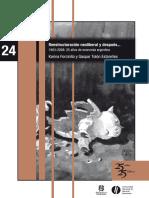 24 Reestructuracion Neoliberal y Despues... Forcinito y Tolon