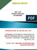 Estructura API 1104 Version 2010