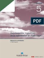 Intervencion Cognitiva en  Alzheimer Manual de Actividades