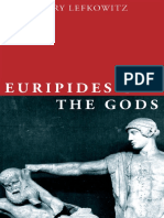 (Onassis Series in Hellenic Culture) Lefkowitz, Mary R-Euripides and the Gods-Oxford University Press (2016)