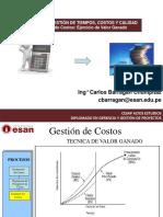 3. Gestion de Costos CESAP - Ejercicios de Valor Ganado