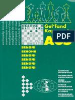Gelfand B. Kapengut a - A65 Benoni - Chess Informant 1996
