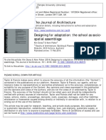 Dovey, Kim; Fisher, Kenn -- Designing for Adaptation- The School as Socio-spatial Assemblage