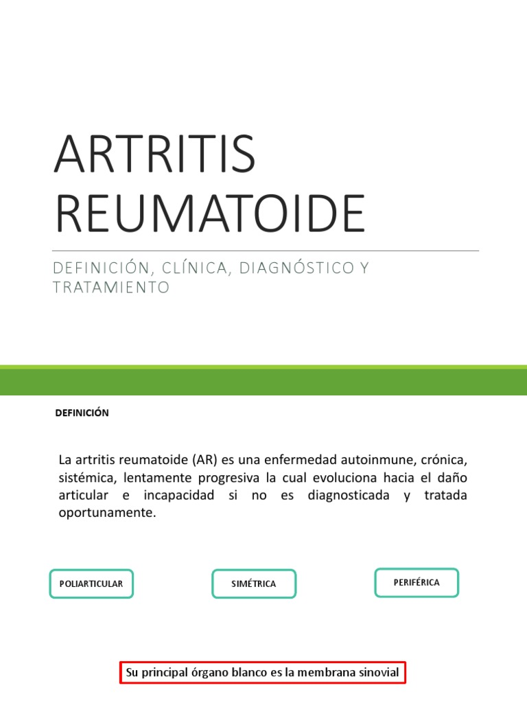 Cloroquina En Artritis Reumatoide Pdf