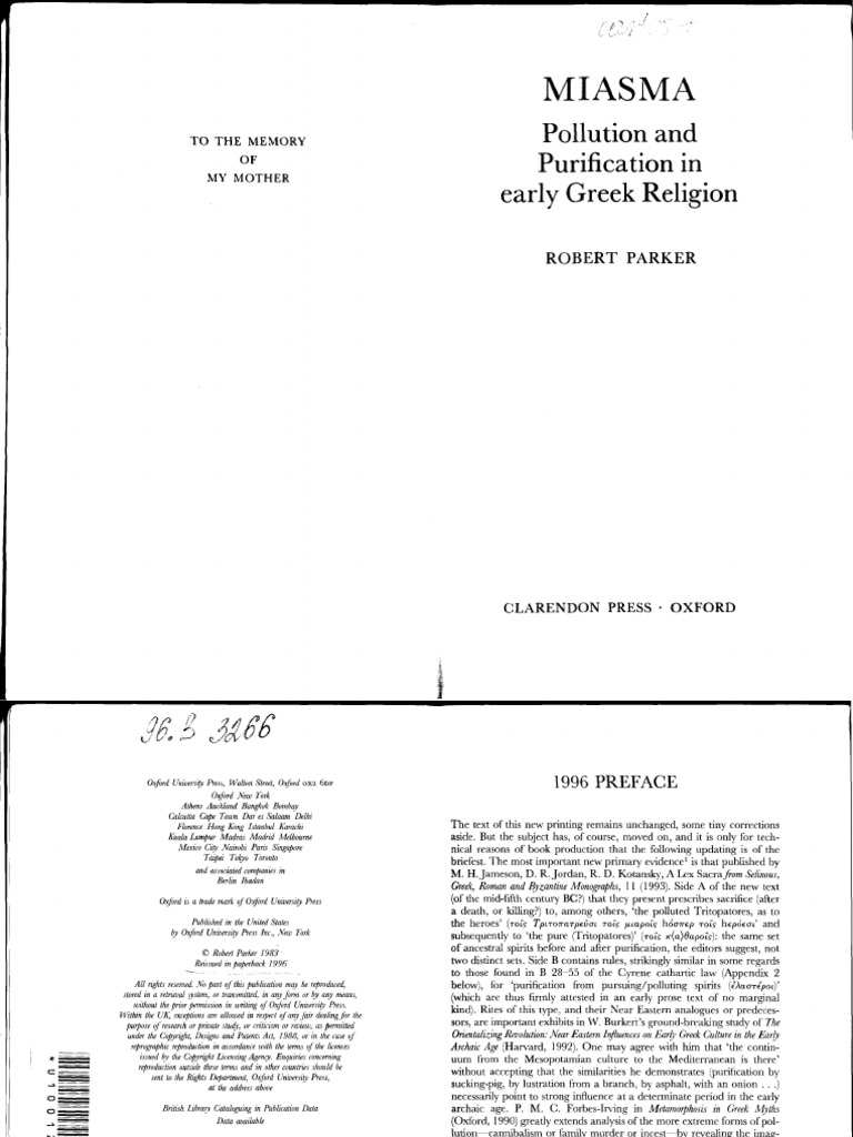 b61e6eadf Robert Parker - Miasma_ Pollution and Purification in Early Greek Religion  (1996, Clarendon Press).pdf | License | Copyright