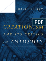 David Sedley - Creationism and Its Critics in Antiquity (2008, University of California Press)