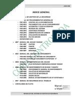 Indice Manual SGS Buque Tanque Estefanía H