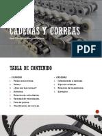 Cadenas y Correas