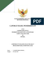 092 LKPD Kab Aceh Singkil 2010