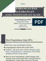 Bab 3 Perkembangan IPA