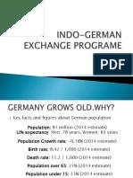 Indo-german Exchange Programe