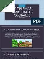 Canci 2, Via Positivas de Problemas Ambientales Globales