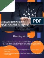 Human Resource Development in INDIA.docx