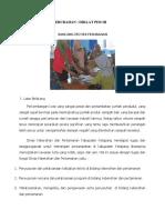 Contoh Proyek Perubahan Diklat Pim3