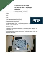 Como Hacer Una Linterna Led Recargable Vía USB