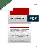 Lead Lead Lag Compensator