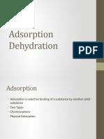 Adsorption Dehydratrion