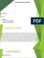 La Boleta de Venta Exposicion.pptx