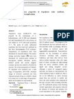 Electrical Conductance Properties of Terpolymer Resin Synthesis, Characterization and Its Applications