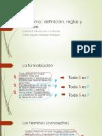 F 2015 C 9 El Silogismo, Definición, Reglas y Falacias