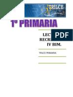 Lectura IV Bim 1 PRIMARIA