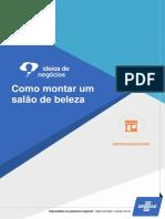 Ideias de Negócios Sebrae - Como Montar um Salão de beleza.pdf