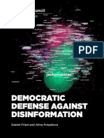 Democratic Defense Against Disinformation