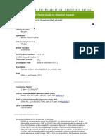 NIOSH Pocket Guide_ Benzene