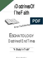Escatology