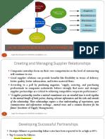 SCM Fall 17 - 4 - Supplier Relationship Management