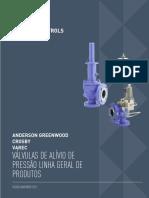 Slidex.tips Anderson Greenwood Crosby Varec Valvulas de Alivio de Pressao Linha Geral de Produtos