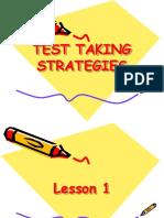 Test Taking Strat