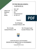 CP Lab Manual 2016-1-0