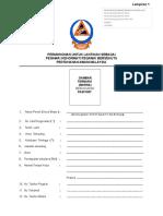 Borang Pegawai Bersekutu Pertahanan Awam ( Format 2016) Clk Bpa