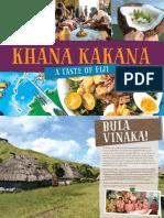 Fiji Khana Kakana - a Fijian Cookbook
