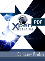 company profile corporate - xpert welding  2018