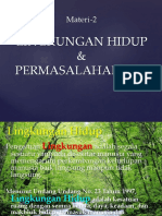2-Lingkungan Hidup & Masalah