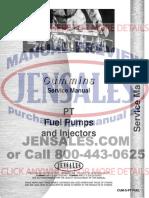 Cummins Pt Engine Service Manual