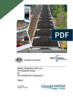 Electric Coal Train Australia